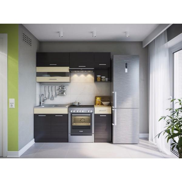Küchenzeilen ALINA 180 WENGE , küche, KCHENZEILE, KCHENBLOCK, WINKELKCHE