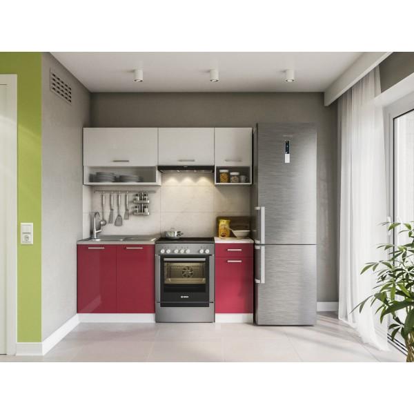 Küchenzeilen LUX 180 ROT , küche, KCHENZEILE, KCHENBLOCK, WINKELKCHE