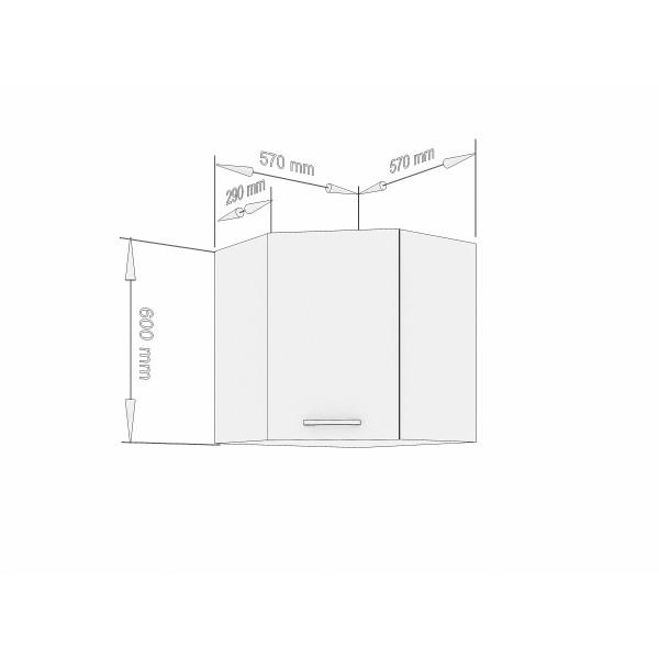 """Küchenzeilen Eckset Weißlack 87 cm """"Lux"""" (3003) , küche, KCHENZEILE, KCHENBLOCK, WINKELKCHE"""