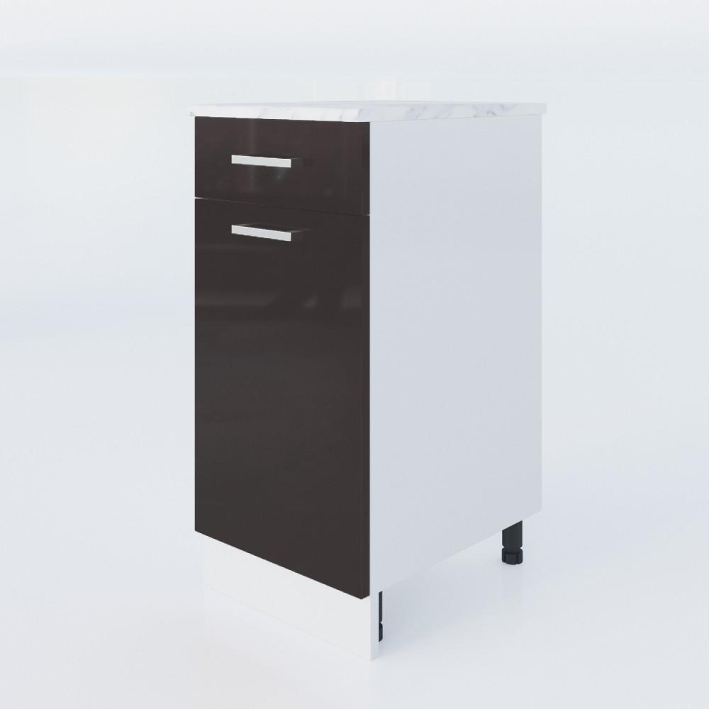 Unterschrank Schwarzlack 40 Cm LUX (3006)