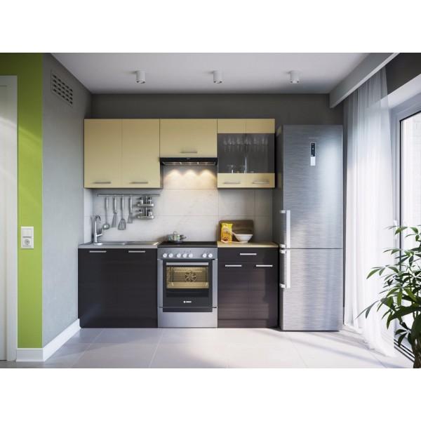 Küchenzeilen MARTHA 200 WENGE , küche, KCHENZEILE, KCHENBLOCK, WINKELKCHE